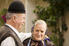 Free Old Couple Portrait Stock Image - 16495451