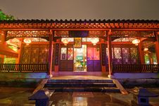 Chinese-style Architecture Stock Photos