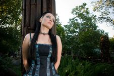 Free Gothic Lady Stock Photography - 16496202