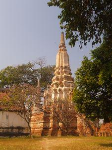Free Wat Puttaisawan Royalty Free Stock Photo - 16496695