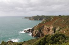 Free Petit Bot Bay From Icart Point On Guernsey Stock Photography - 16498942