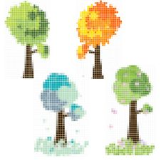 Free Mosaik Tree Stock Photography - 16499022