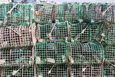 Free Lobster Traps Stock Image - 16499311