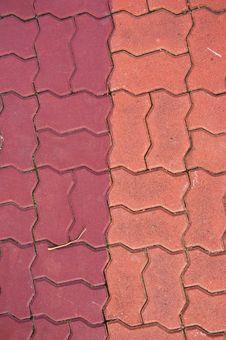 Free Brick On Ground Stock Photo - 16499320
