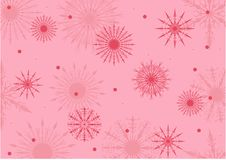 Free Pink And Red Snowflake Background Stock Photo - 16499520