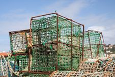 Free Lobster Traps Stock Images - 16499654