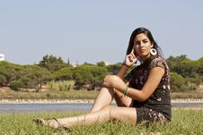 Free Girl Meditating Stock Images - 16499844