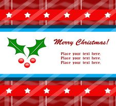 Free Xmas Greeting Card Stock Photo - 16499990