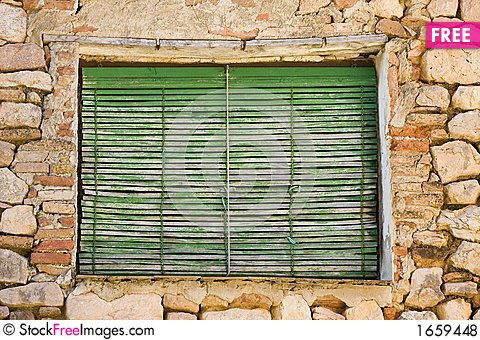 Free Aged Window Royalty Free Stock Photos - 1659448