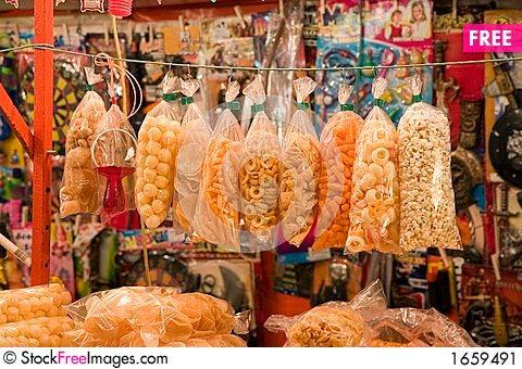 Free Snacks Stock Image - 1659491