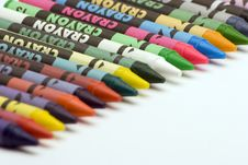Free Multi Coloured Crayons Royalty Free Stock Image - 1650586
