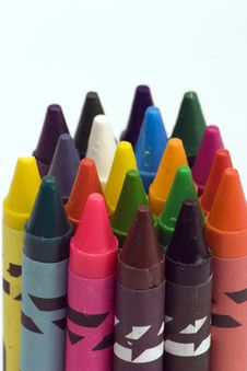 Free Multi Coloured Crayons Royalty Free Stock Photo - 1650595