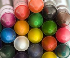 Free Multi Coloured Crayons Royalty Free Stock Image - 1650616