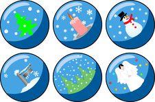 Free Christmas Decorations Royalty Free Stock Photo - 1651685