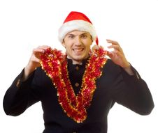 Free Xmas Man 1 Stock Photo - 1651700
