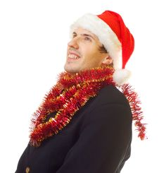 Free Xmas Man 6 Stock Photos - 1651723