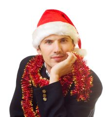 Free Xmas Man 8 Royalty Free Stock Image - 1651726