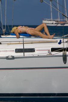 Free Sunbather Stock Photo - 1651830