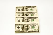 Free American Dollars Royalty Free Stock Photography - 1651887