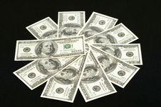 Free American Dollars Royalty Free Stock Photos - 1651998