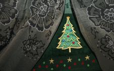 Free Christmas Tree Hand Towel Close Up Royalty Free Stock Photography - 1653157