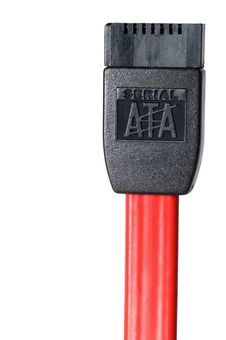 Free Serial ATA Cable Isolated Royalty Free Stock Photography - 1653187