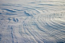 Free Erosion On The Snow Plain Royalty Free Stock Photo - 1653545