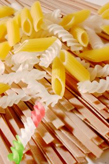 Pasta Assortment Stock Images