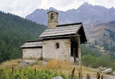 Mountain Chapel Stock Images