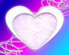 Free Heart Background Stock Image - 1655901