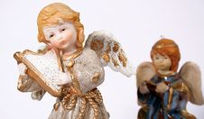Free Christmas Angels 01 Stock Photo - 1656800
