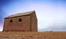 Free Sunrise Farm Building Stock Image - 1656871
