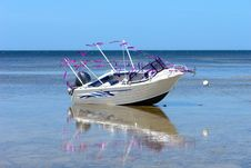 Free Festive Fishing Boat Royalty Free Stock Image - 1656876