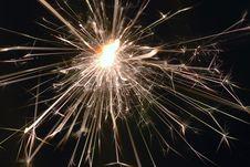 Free Sparkler Stock Image - 1656911