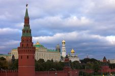 Free Moscow Kremlin Wall Stock Image - 1657001