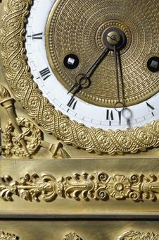 Free Vintage Clock Stock Image - 1657421