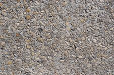 Concrete With Pebbles Texture 2 Royalty Free Stock Images