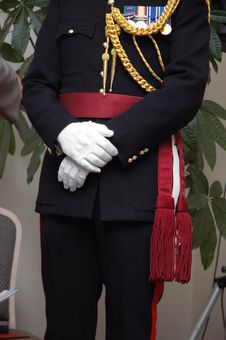 Free English Royal Officer Royalty Free Stock Photos - 1658458