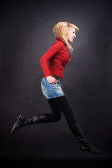 Free Elegant Jump Stock Images - 1658484