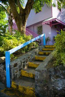 Free Virgin Island Staircase Stock Photos - 1658853