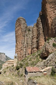 Riglos, Huesca, Spain Royalty Free Stock Images