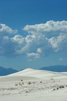 Free White Sand Dunes Royalty Free Stock Image - 1659966