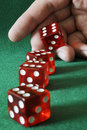 Free Four Dices In Hand Stock Photography - 16503212
