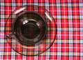 Free Empty Glass Tea Cup Royalty Free Stock Photo - 16504475