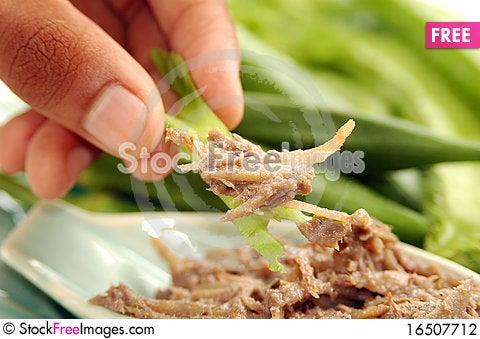 Free Phuket Dried Fish Paste Chili Sauce (Nam Phrik Pr Stock Photography - 16507712