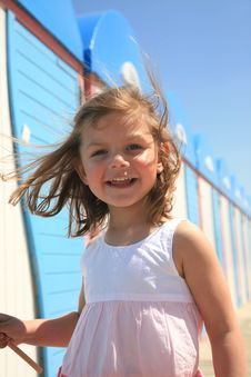 Free Girl At Beach Royalty Free Stock Images - 16500679