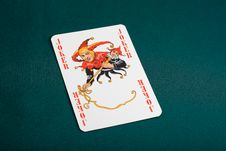 Free Joker Playing Card Stock Photo - 16502110
