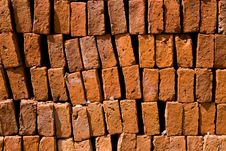 Free Heap Of Red Brick Stock Images - 16502354