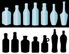 Free Bottles For A Liquid Royalty Free Stock Image - 16502896