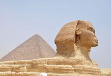 Free Pyramid And Sphynx Royalty Free Stock Photo - 16503445